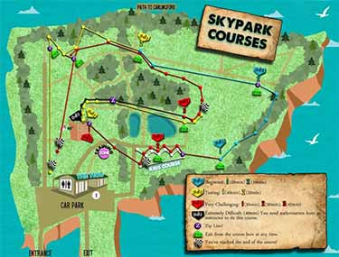 Carlingford Adventure Centre Skypark Course