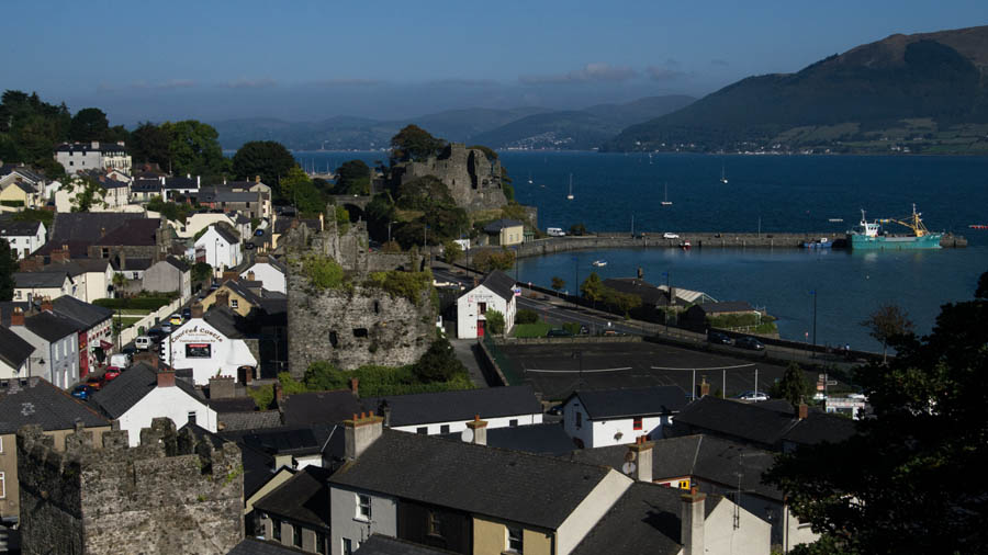 Carlingford from the rooftops