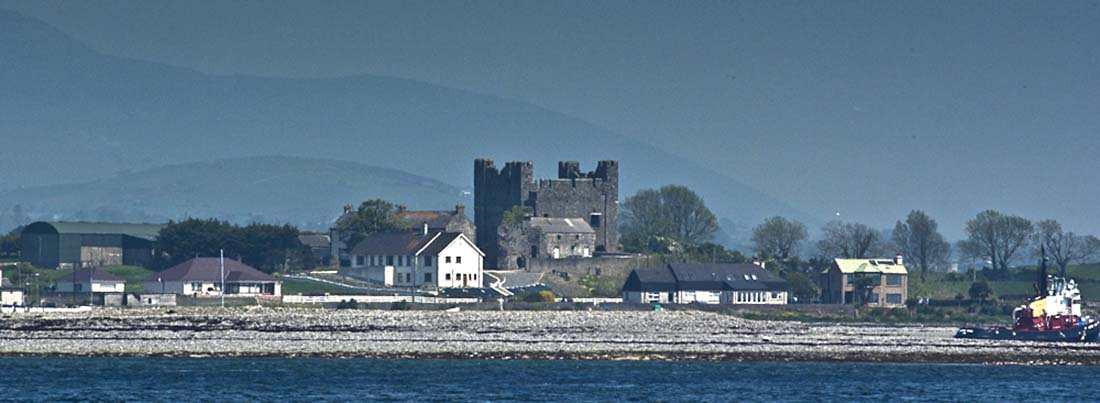 Greenore Greencastle Castle Carlingford Lough Ferry
