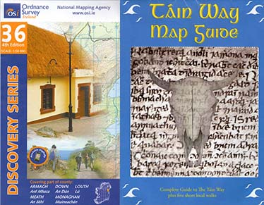 Táin Way Map Guide OSI 36 Louth
