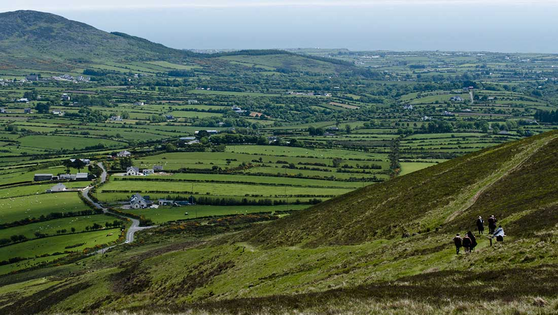 Táin Way from Ravensdale to Carlingford at Glenmore