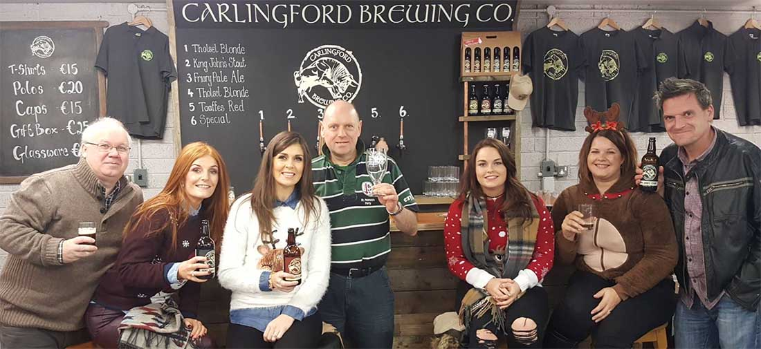 Carlingford Brewing Company Tour Group