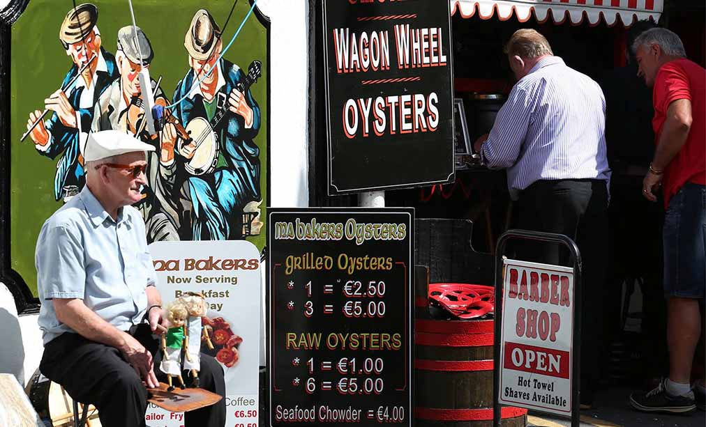 Carlingford Oyster Festival Ma Bakers
