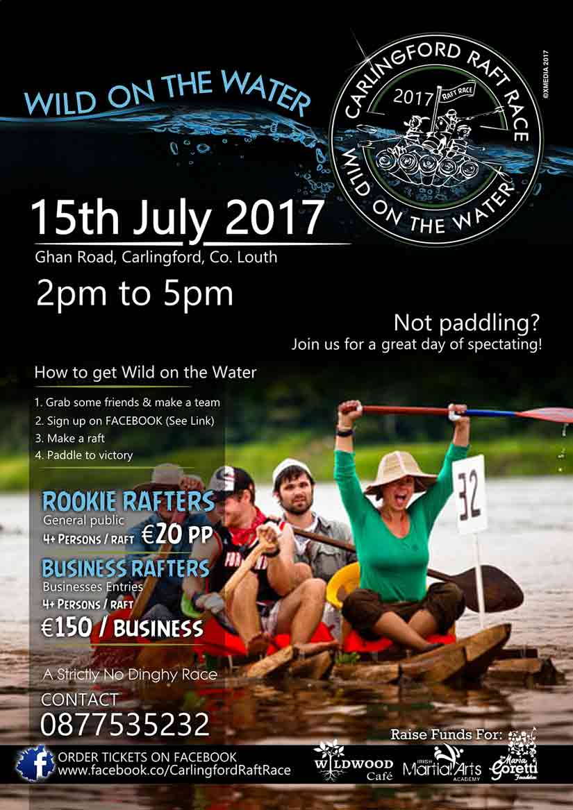 Carlingford Wild On The Water 2017 Poster