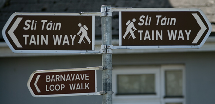Tain Way Sign Loop
