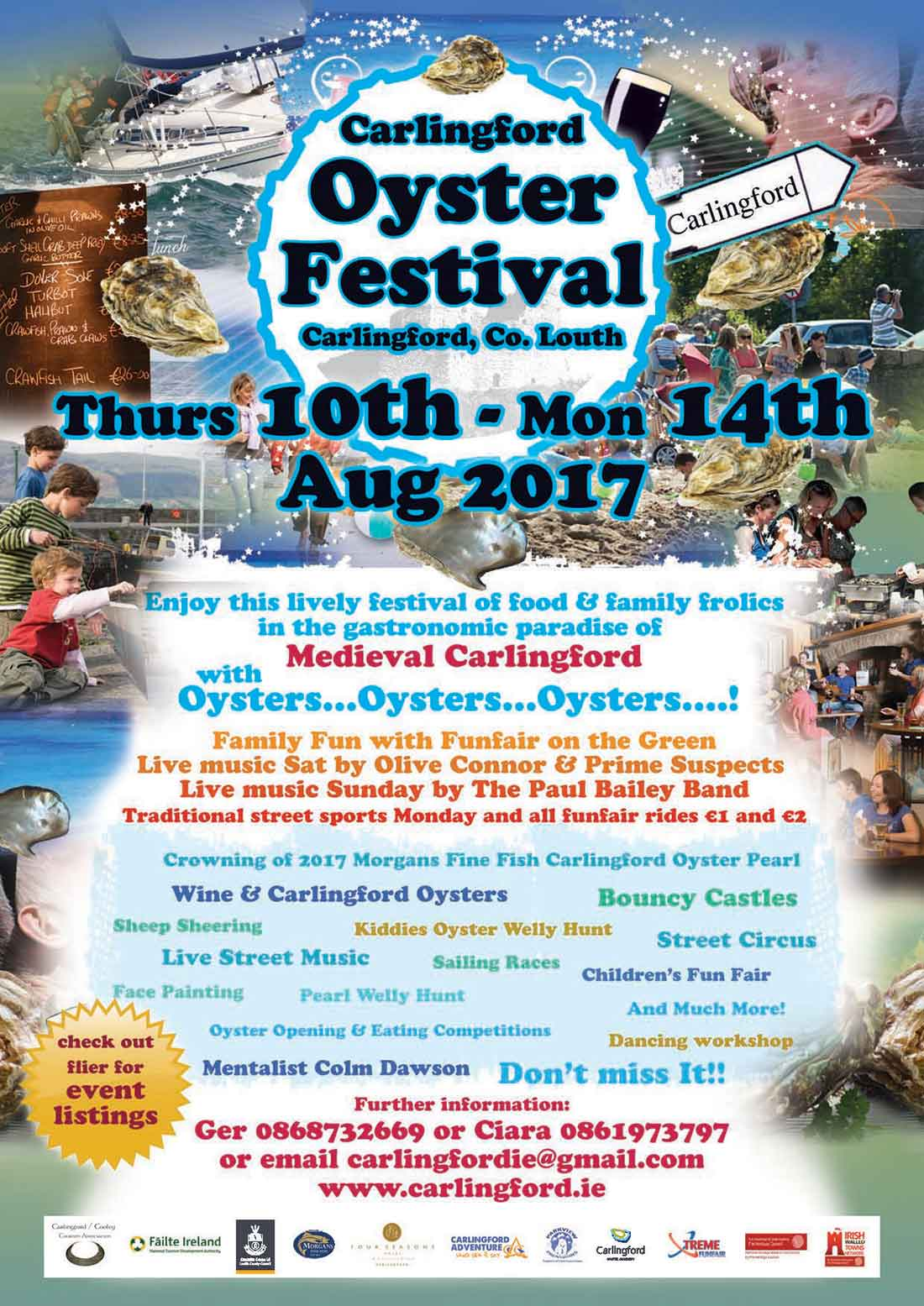 Carlingford Oyster Festival 2017 Flyer