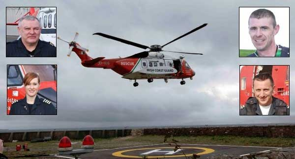 Irish Coast Guard Crew Rescue 116